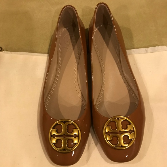 49c3a7b911d8 Tory Burch Chelsea Ballet-patent leather